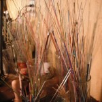 Glass stringers we use to decorate our glass beads